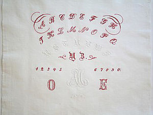 Whitework Sampler AH 1896