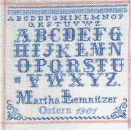 Martha Lemnitzer 1901: Reproduktion von Christel Ross