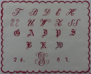 Whitework sampler ICG